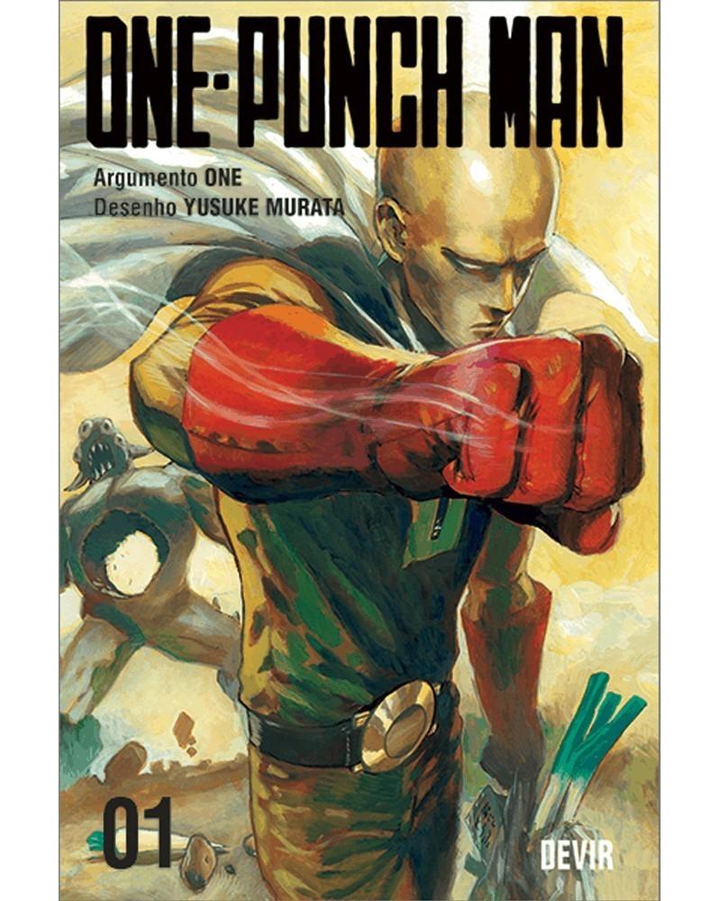 One-Punch Man vol.1 (Ed. Portuguesa) Capa