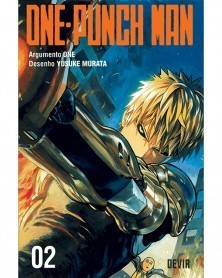 One-Punch Man 01 vol.2 (Ed. Portuguesa) Capa