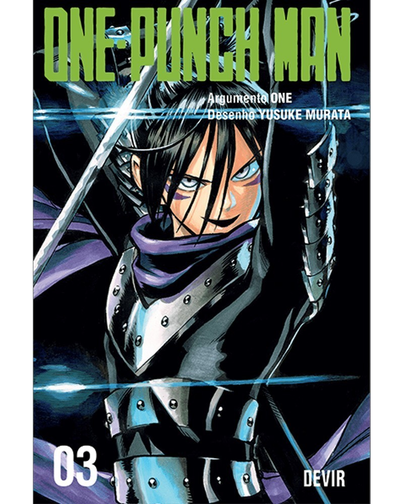 One-Punch Man vol.3 (Ed. Portuguesa) Capa