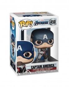 Funko POP Avengers: Endgame - Captain America, caixa
