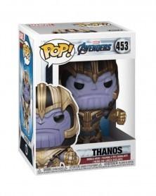 Funko POP Avengers: Endgame - Thanos, caixa