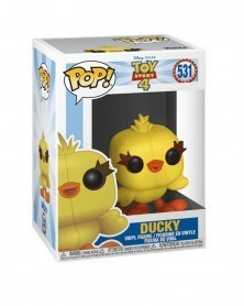 Funko POP Disney - Toy Story 4 - Ducky, caixa
