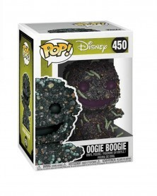 Funko POP Nightmare Before Christmas - Oogie Boogie w/Worms, caixa