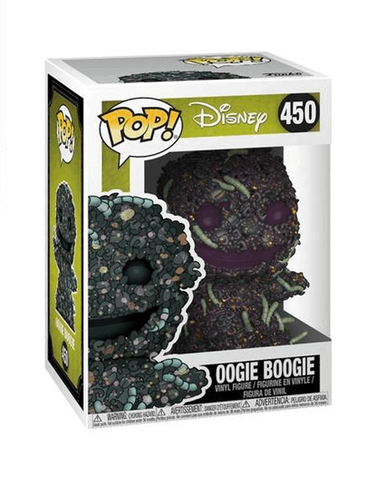 Funko POP Nightmare Before Christmas - Oogie Boogie w/Worms, caixa