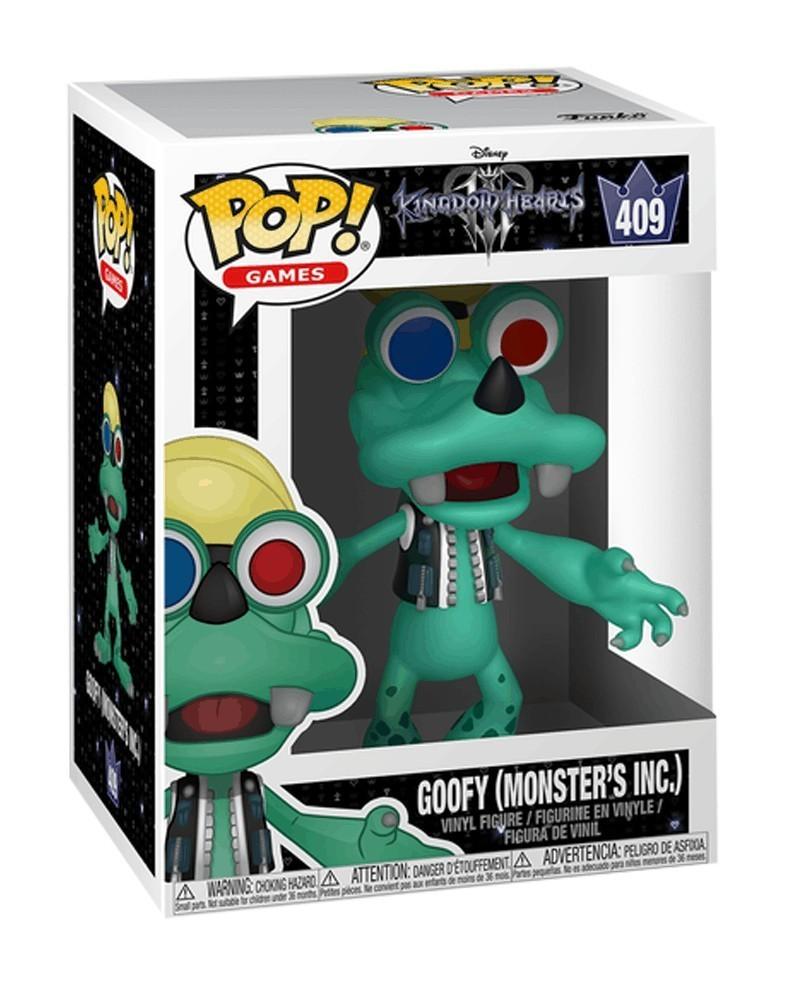 Funko POP Disney - Kingdom Hearts - Goofy (Monster's Inc.), caixa