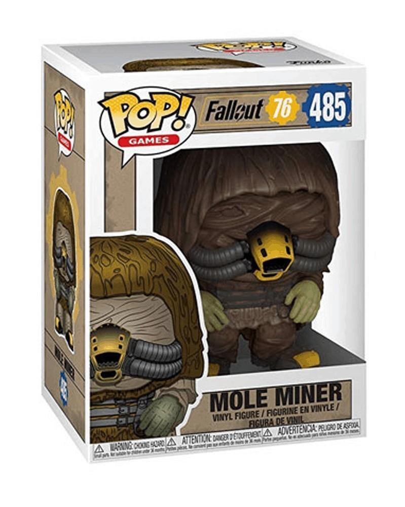 Funko POP Games - Fallout 76 - Mole Miner, caixa