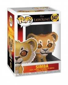 Funko POP Disney - The Lion King - Simba (Live Action), caixa