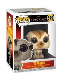 Funko POP Disney - The Lion King - Timon (Live Action), caixa