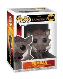 Funko POP Disney - The Lion King - Pumbaa (Live Action), caixa