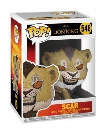 copy of Funko POP Disney - The Lion King - Scar (Live Action), caixa