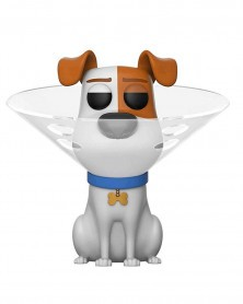 Funko POP Movies - Secret Life of Pets 2 - Max With Cone