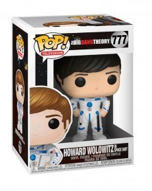 Funko POP Television - The Big Bang Theory  - Howard in Space Suit, caixa