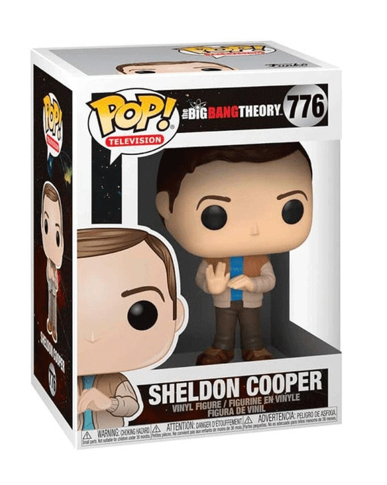 Funko POP Television - The Big Bang Theory  - Sheldon Cooper, caixa