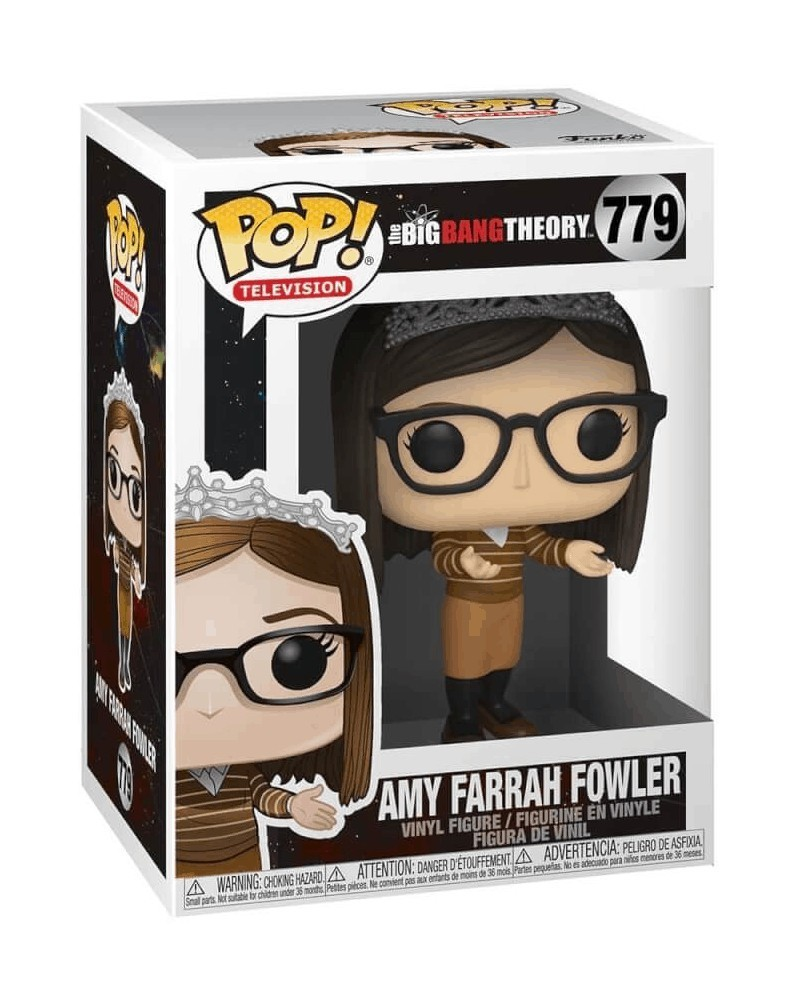 Funko POP Television - The Big Bang Theory  - Amy Farrah Fowler, caixa