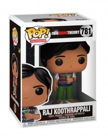 Funko POP Television - The Big Bang Theory  - Raj Koothrappali, caixa