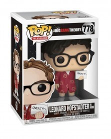 copy of Funko POP Television - The Big Bang Theory  - Leonard in Robe, caixa