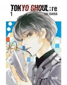 Tokyo Ghoul Re: vol.1 (Ed. Portuguesa), capa