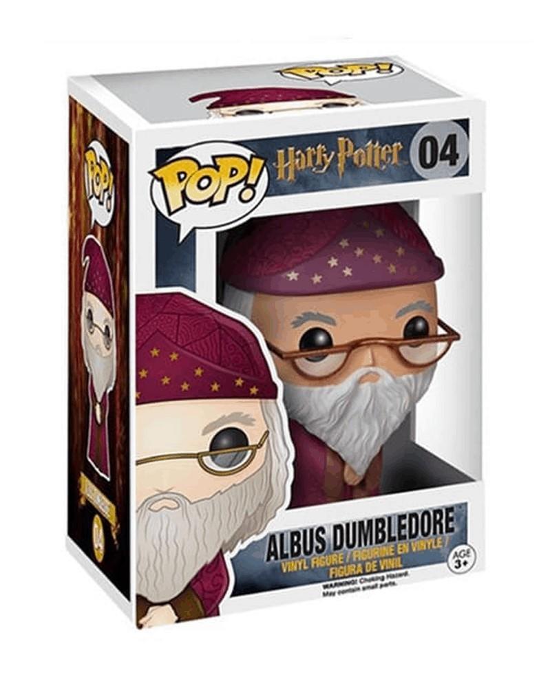 Funko POP Harry Potter - Albus Dumbledore, caixa