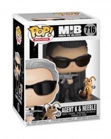 Funko POP Movies - Man in Black - Agent K and Neeble, caixa