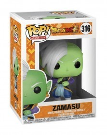 Funko POP Animation - Dragonball Super - Zamasu, caixa