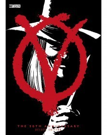V For Vendetta, 30th Anniversary Edition HC (Alan Moore/David Lloyd), capa