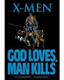 X-Men: God Loves, Man Kills (Claremont), capa