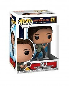 POP Marvel - Spider-Man: Far From Home - MJ, caixa