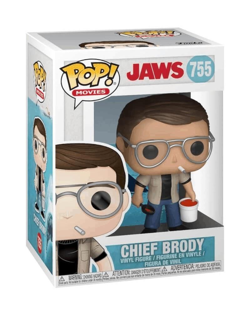 Funko POP Movies - Jaws - Chief Brody, caixa