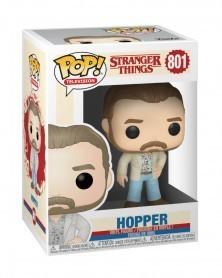 Funko POP TV- Stranger Things - Hopper (Date Night), caixa