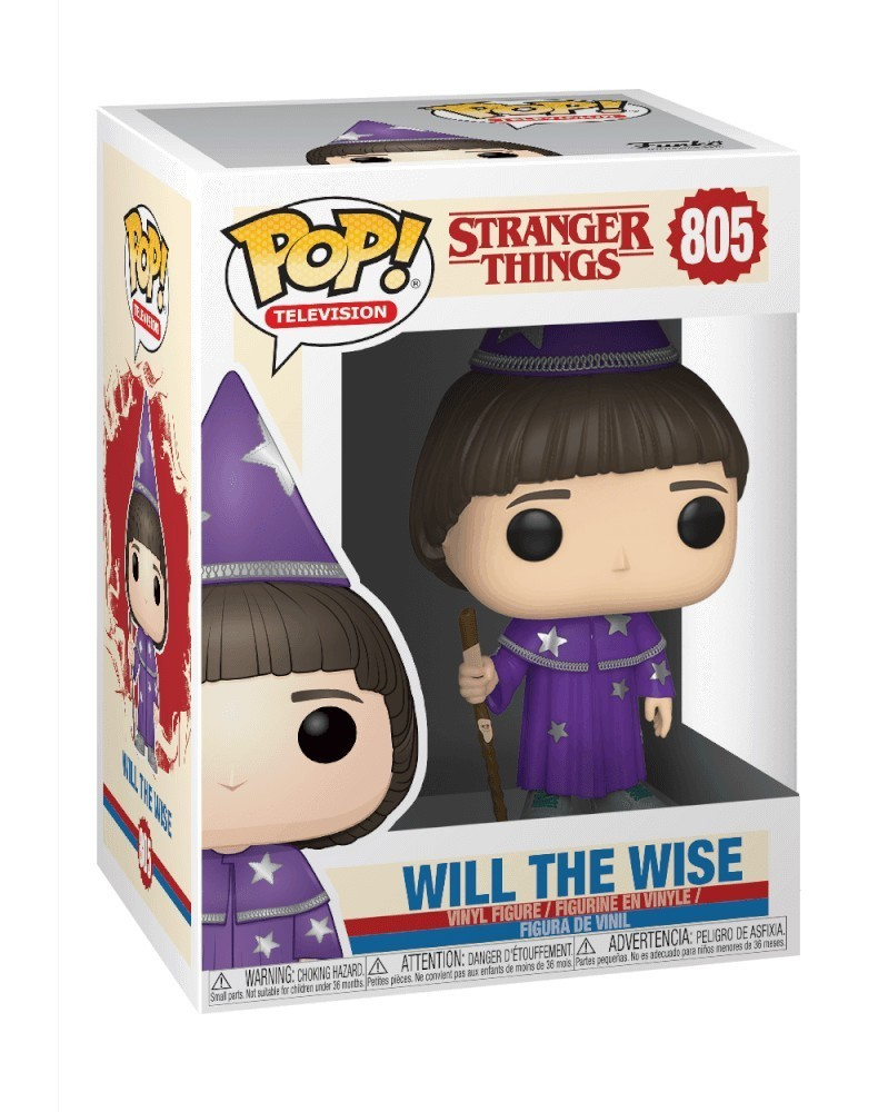 Funko POP TV- Stranger Things - Will The Wise, caixa