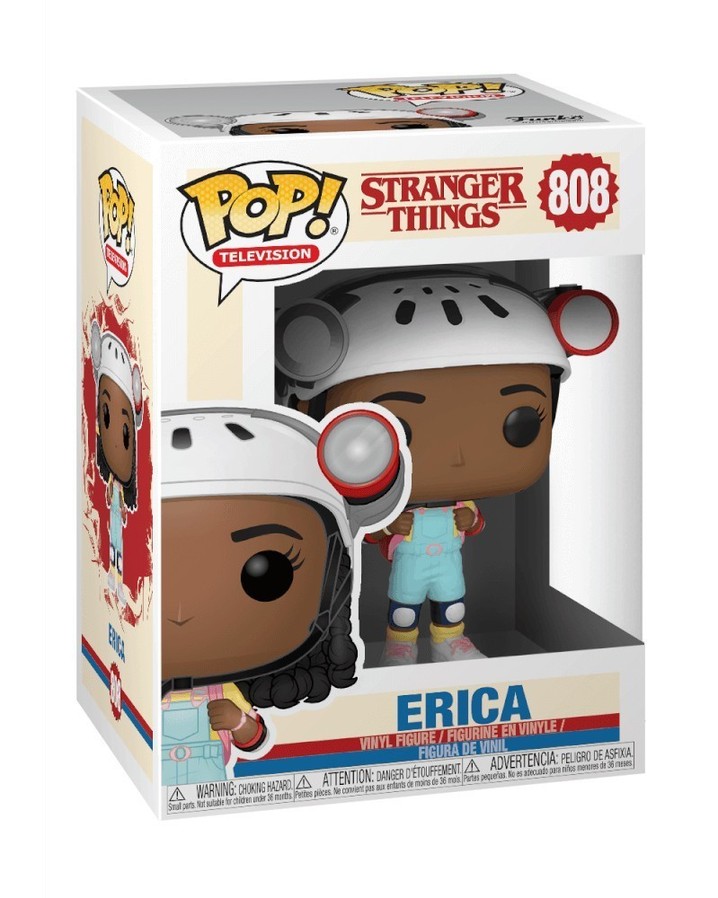 Funko POP TV- Stranger Things - Erica, caixa