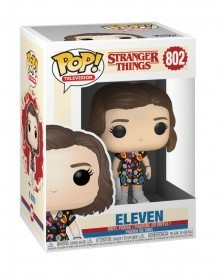 Funko POP TV- Stranger Things - Eleven (Mall Outfit), caixa