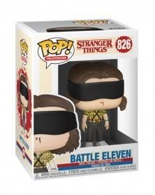 Funko POP TV- Stranger Things - Battle Eleven, caixa