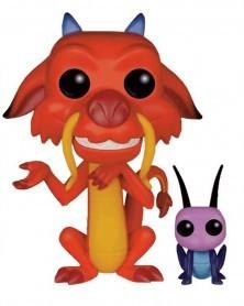 Funko POP Disney - Mulan - Mushu & Cricket
