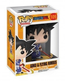 Funko POP Anime - Dragonball - Goku & Nimbus, caixa