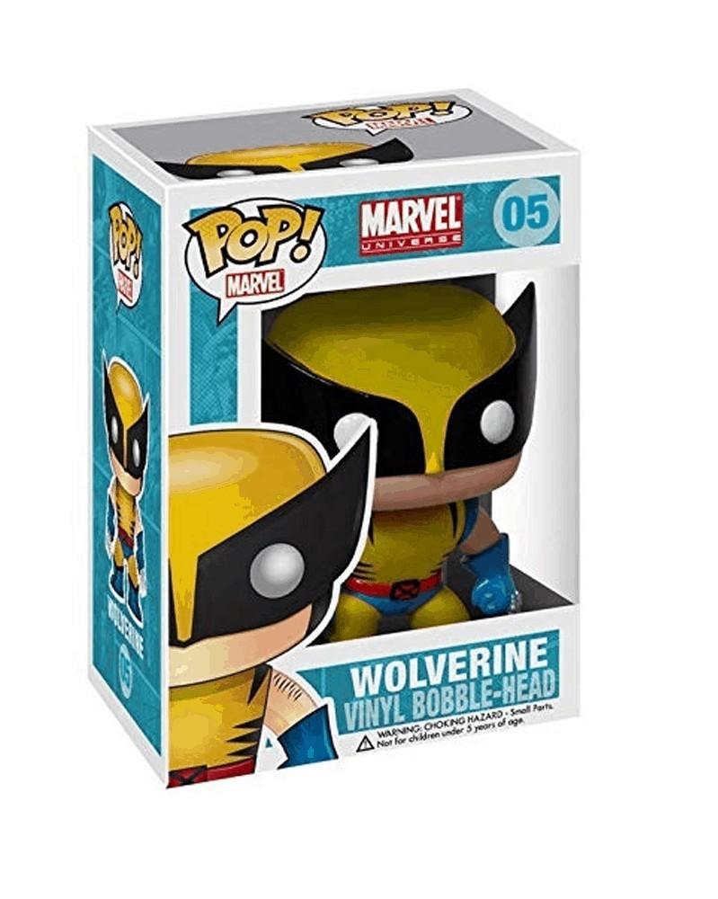 Funko POP Marvel - Wolverine, caixa