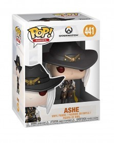 Funko POP Games - Overwatch - Ashe, caixa