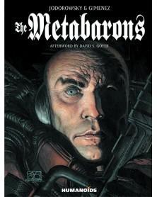 Metabarons, de Jodorowsky e Gimenez (edição integral capa dura), capa