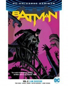Batman vol.2: I Am Suicide TP (Rebirth), de Tom King, capa
