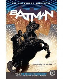 Batman vol.5: The Rules of Engagement TP (Rebirth), de Tom King, capa