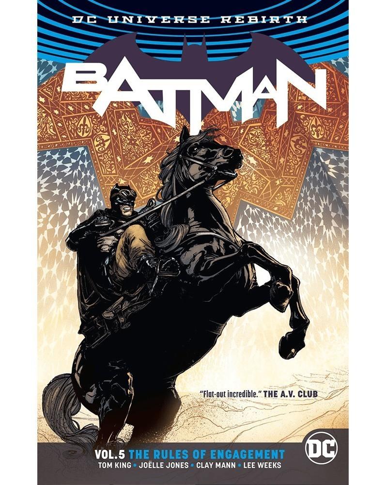 Batman vol.5: The Rules of Engagement TP (Rebirth), de Tom King, capa