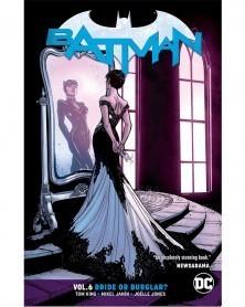 Batman vol.6: Bride or Burglar TP (Rebirth), de Tom King, capa
