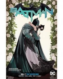 Batman vol.7: The Wedding TP (Rebirth), de Tom King, capa