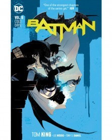 Batman vol.8: Cold Days TP (Rebirth), de Tom King, capa