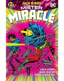 Mister Miracle by Jack Kirby TP, capa
