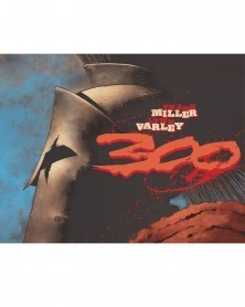 300 HC (Frank Miller e Lynn Varley), capa