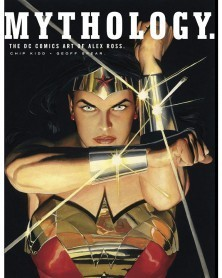 Mythology: The DC Comics Art of Alex Ross HC, capa