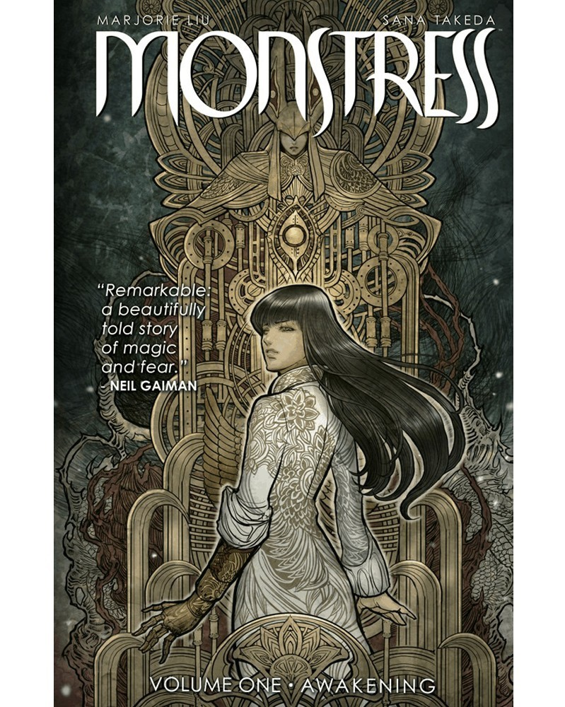 Monstress vol.1: Awakening TP, capa