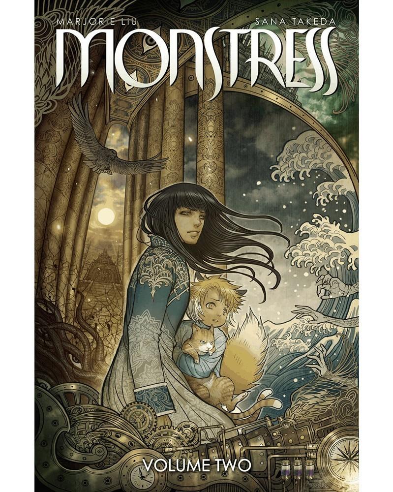 Monstress vol.2 TP, capa