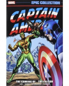Captain America Epic Collection: The Coming of The Falcon, capa